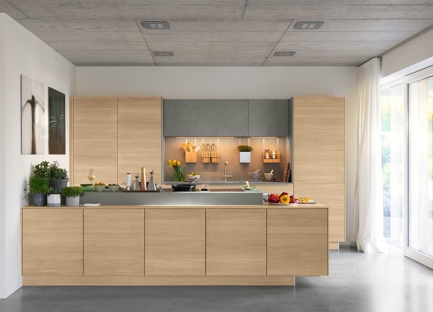 TEAM 7 Filigno keuken in eik en keramiek