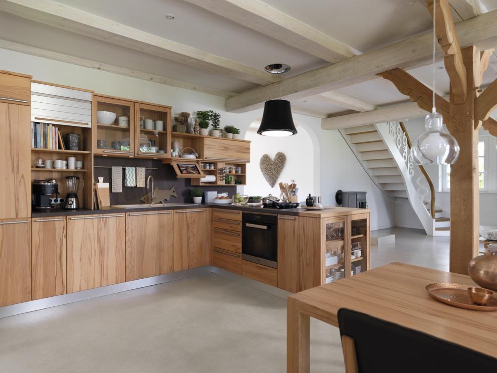 TEAM 7 Rondo keuken in kernbeuk