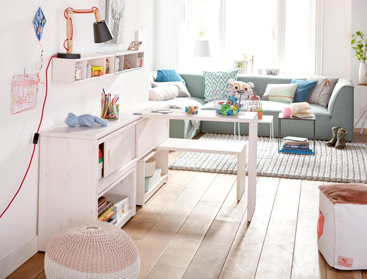 Easyway speelgoedkast met tafel en bankjes
