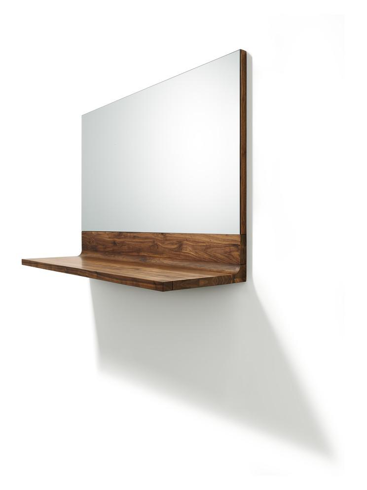 TEAM 7  Riletto spiegel in notelaar