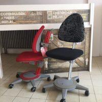 Meegroei-bureaustoel.