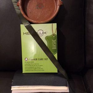 Keralux leather care set