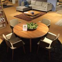 Flaye tafel en stoelen