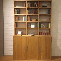 Buffet- of bibliotheekkast eik