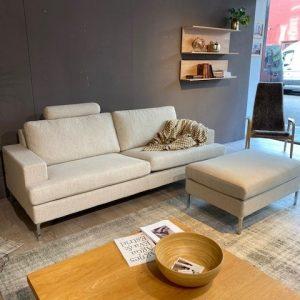 De infini sofa van Ire is te proberen in onze ruime showroom