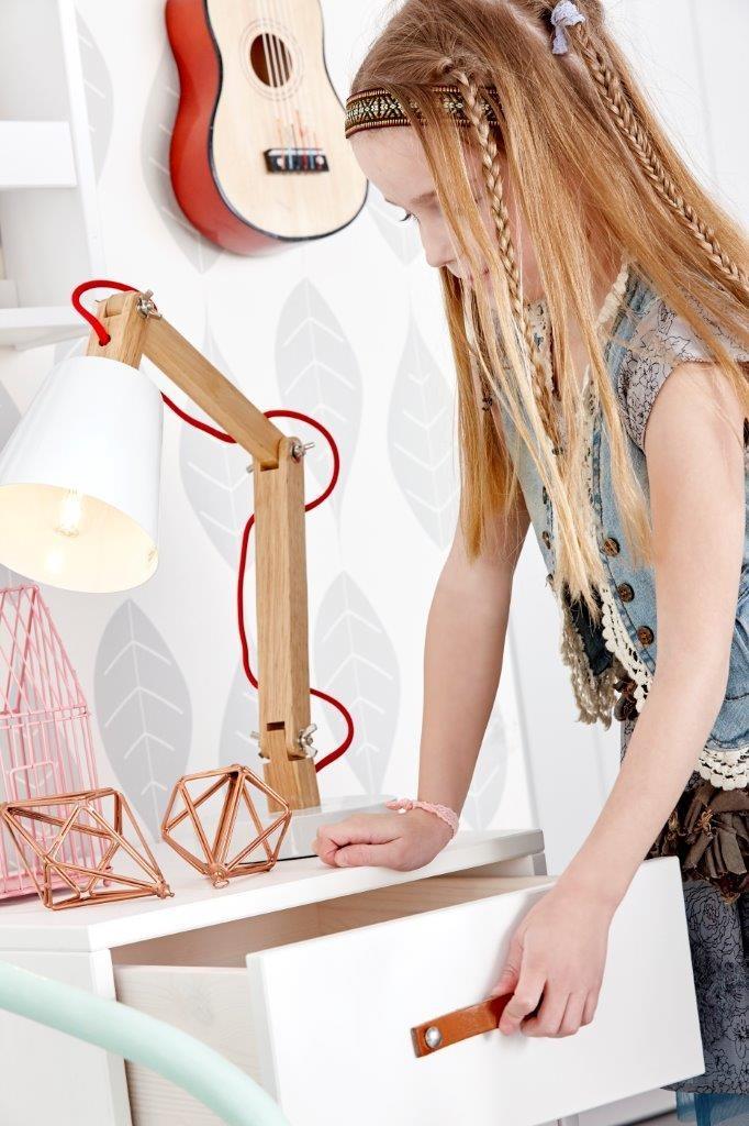 Bureaulampje in hout van Lifetime