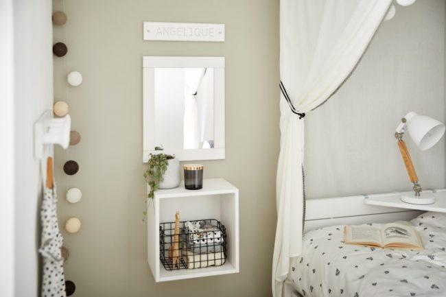 Lifetime - opbergbox en spiegel