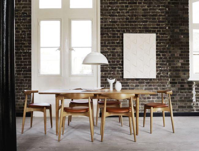 Carl Hansen Elbow chairs
