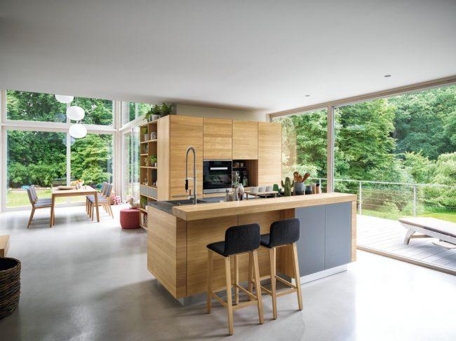 TEAM 7 Linee keuken in eik