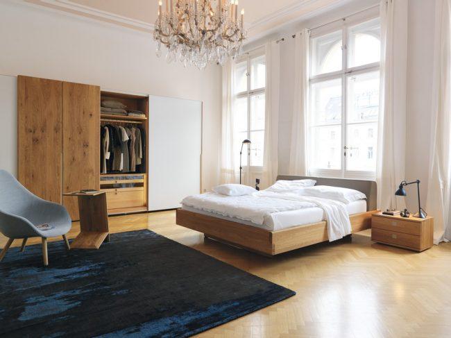 TEAM 7 Nox slaapkamer in eik