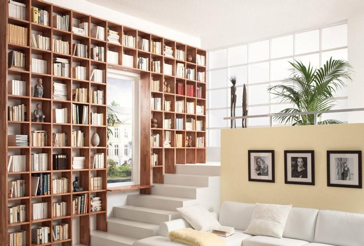 Trend   bibliotheekwand